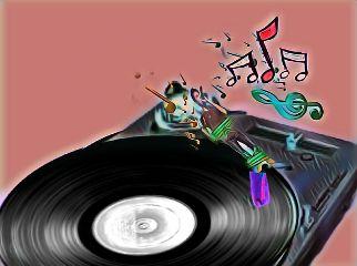 freetoedit vinylremix singer badlandsmagiceffect