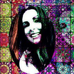 myself flowerpower popartcolorseffect