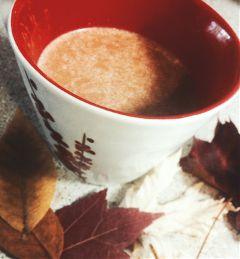 vanilla tea tealatte latte fall freetoedit