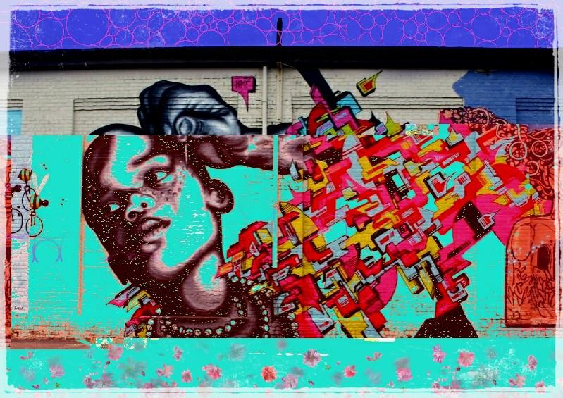 #streetart #graffitiart #remix