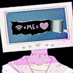 freetoedit dailysticker wifi love anime