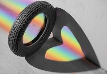 freetoedit tire heart rainbow