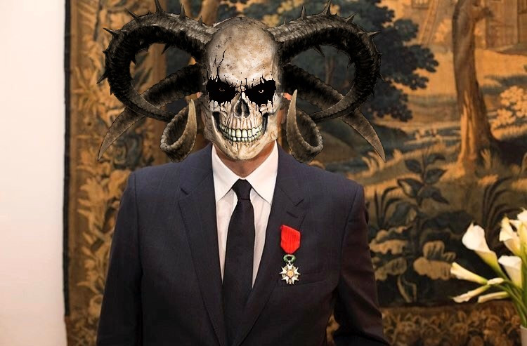 #fundfairvip #halloween #guy #skull #scary #funny #pa #picsart #suit