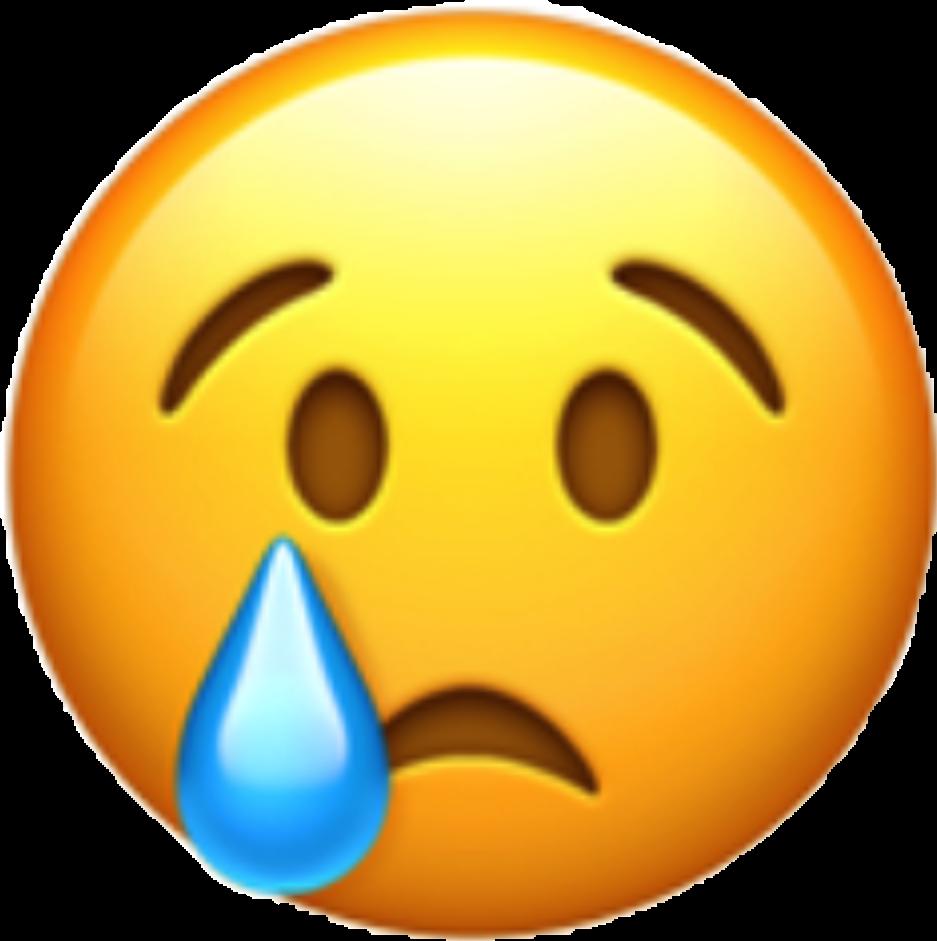 Emoji Sad Crying Sademoji Cryingemoji