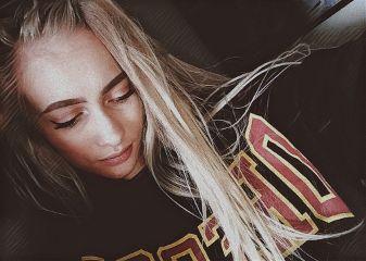 me blonde girl makeup followme