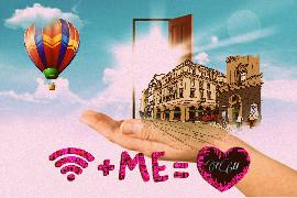 freetoedit dailystickerremix warmcoloreffect airballoon edited