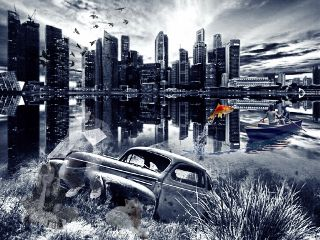 freetoedit remixedwithpicsart ghostadventures lost cityscape