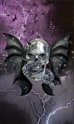 freetoedit skull myartwork