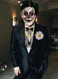 freetoedit fundfairvip clown guy creepy