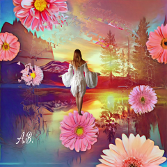 freetoedit blending magic flowersallaround beauty