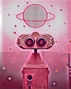 freetoedit dailyremix daily pink robot