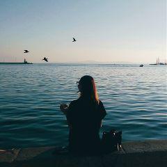 freetoedit sea blue mediterranean sky