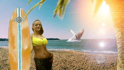beach surf plage freetoedit