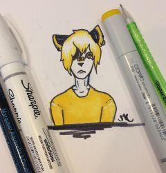 yellow meifwa copic one marker