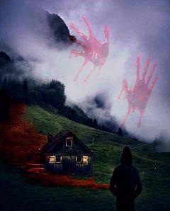 freetoedit foggyremix dalyremix scary hands