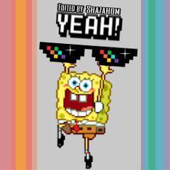 freetoedit shazahom1 spongebob edited