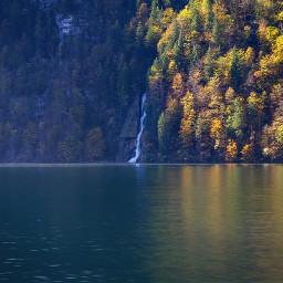 nature colorful sea autumn landscape