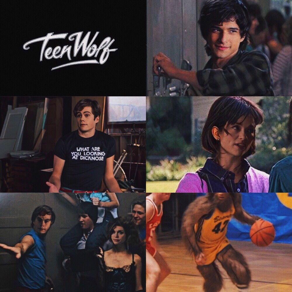 [ 1985's Teen Wolf x 2011's Teen Wolf ]    #TeenWolf #scottmccall #stilesstilinski #lydiamartin #allisonargent  #tw #teenwolfedit #freetoedit