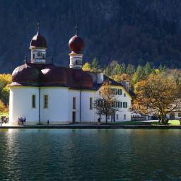 travel sea autumn architecture church