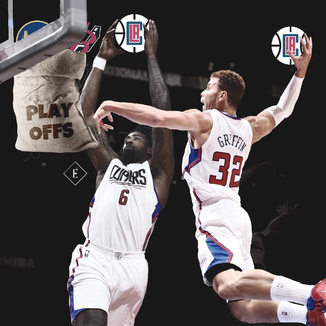 Can DeAndre and Blake lead the Clippers to the playoffs? #madewithpicsart #freetoedit #losangeles #usa #nba #basketball #picsart #art #nbaedits #design #today #tuesday #sports #f4f #follow4follow