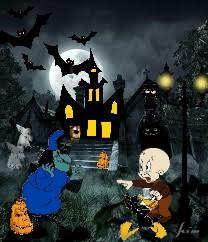 freetoedit hauntedhouse broomhildathewitch elmerfudd daffyduck