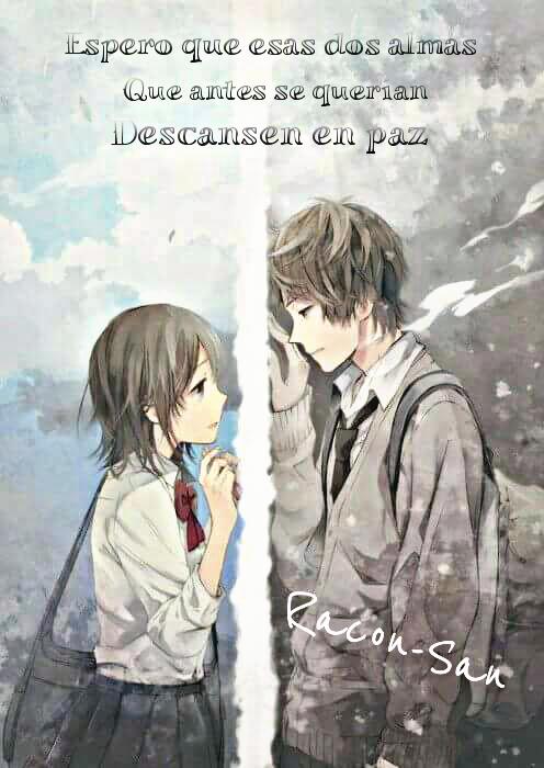 Racon San Sad Love Anime Frases Image By Racon