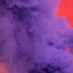 freetoedit smoke purple red colorfull