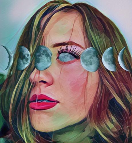 #freetoedit #moonphases #moon #eye