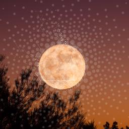 freetoedit moon overlay bigbang