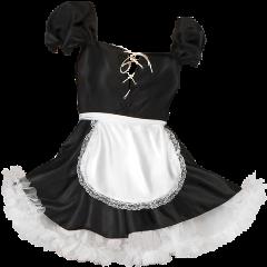 dress clothes costume maid apron freetoedit
