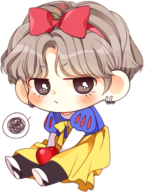 Bt21 V Bts Taetae Kpop Chibi Anime