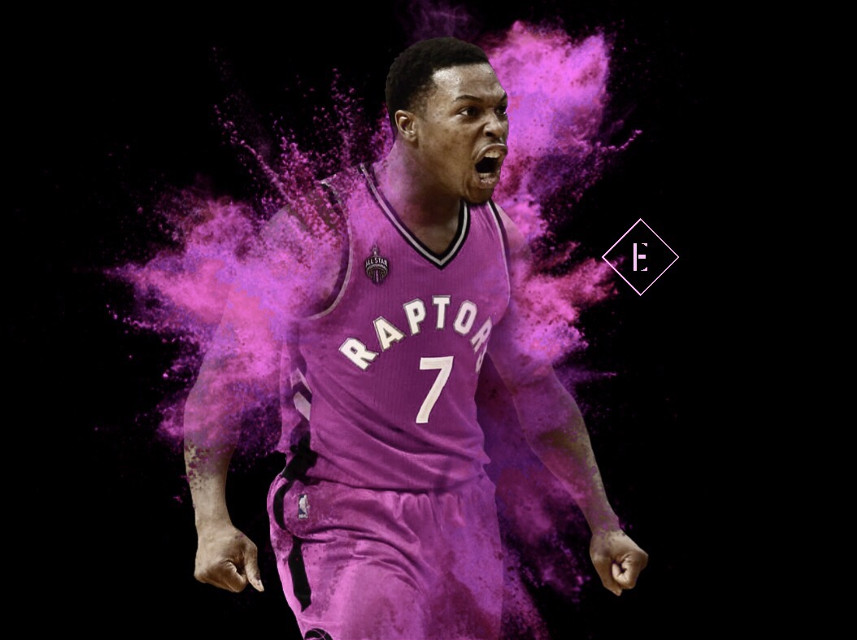 Kyle Lowry breast cancer awareness month edit #madewithpicsart #freetoedit #toronto #usa #nba #basketball #picsart #art #nbaedits #design #today #monday #sports #f4f #follow4follow