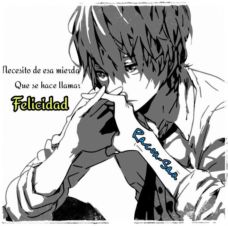 Racon San Antisocialsad Anime Frases