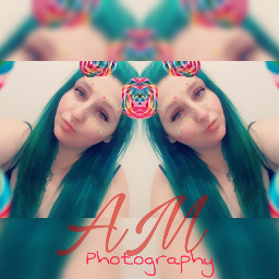 selfie amphotography colourful colourfulhair brite