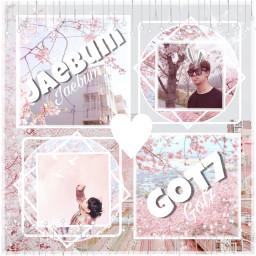 freetoedit got7 jaebum cherryblossom aesthetic