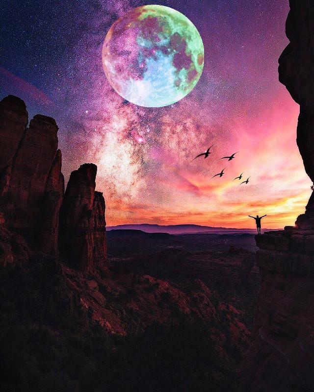 İyi akşamlar ✨ #freetoedit #myedit #world #colors #sky #turkey #night #travel #photography #photographer #birds #remixit #freetoedit @pa
