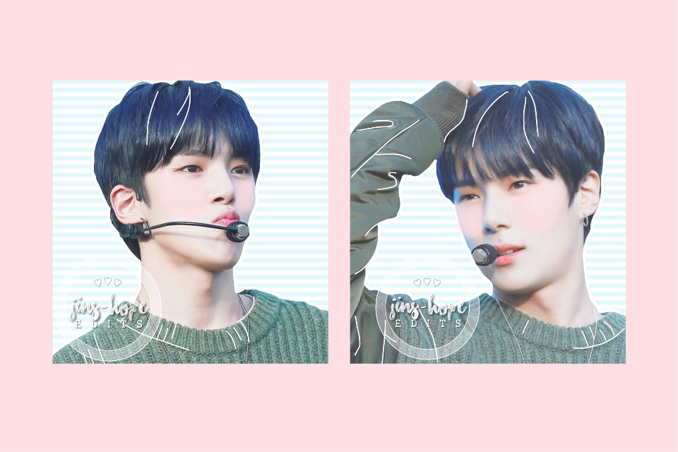 happy birthday minhyuk!!! my cute puppy :3  #monstax #monstaxminhyuk #leeminhyuk #minhyuk #kpop #edit #pastel #kpopedit   photo cr: minstory, heart beam