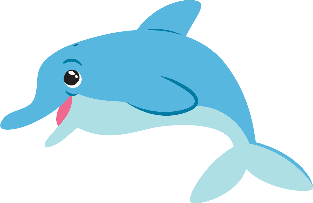 Flipper Dolphin Cartoon