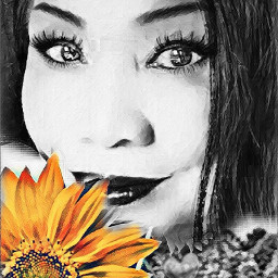 freetoedit selfie artisticportrait colorsplaheffect me