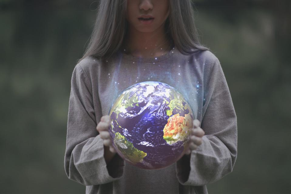 #freetoedit hope you like it. #holdingtheworld