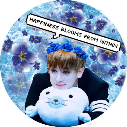 Wonho Flowers: Happiness Blooms from Within #wonhomonstax