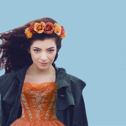 freetoedit lorde royal royals orange