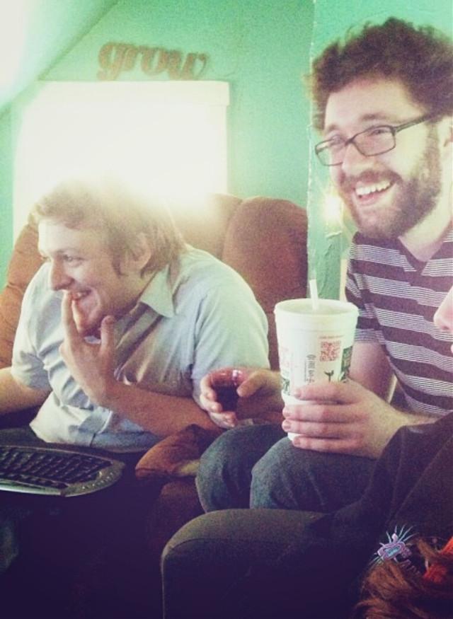 #mydrink #guys #friends #laughing #coffee #myphoto #holdingmydrink #dpcholdingmydrink #bromance #mancrush
