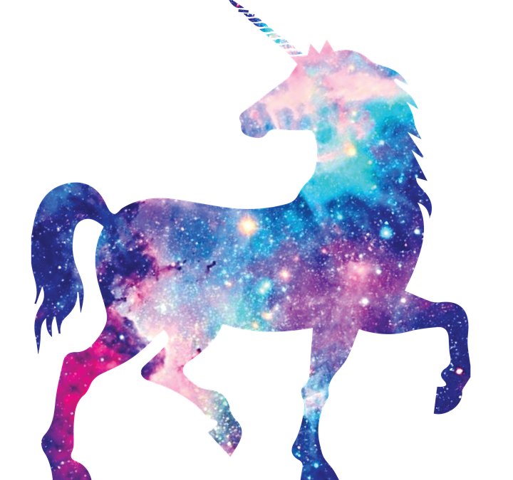 Unicorn Galaxy Girly Fantasy Aesthetic Horse Interestin