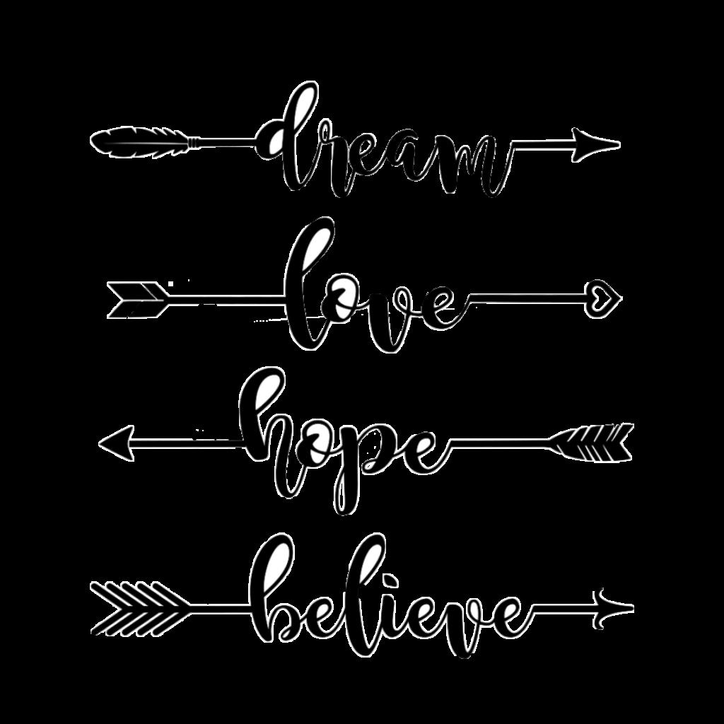 Word Wall Art Stickers Arrows Tumblr Blackandwhite Black Amp White