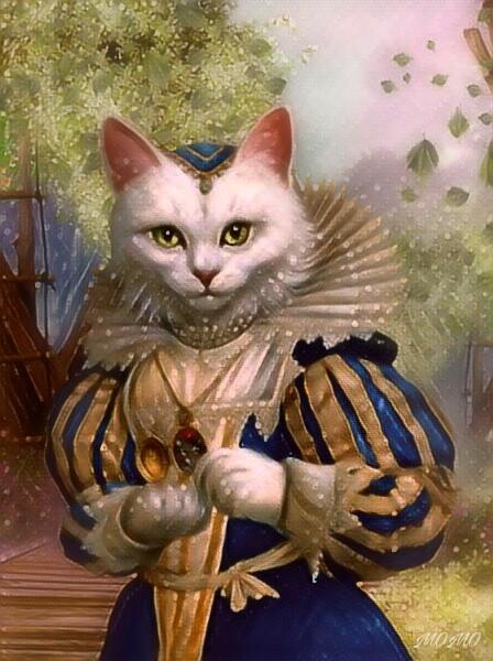 #myedit #myartwork #fantasyart #cat