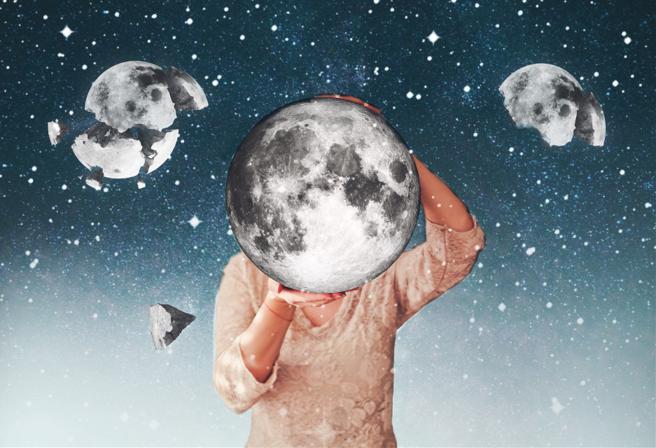 #freetoedit #moon #space #night #stars #sparkle #holding #madewithpicsart #art #dodgereffect #dramaeffect #picsart