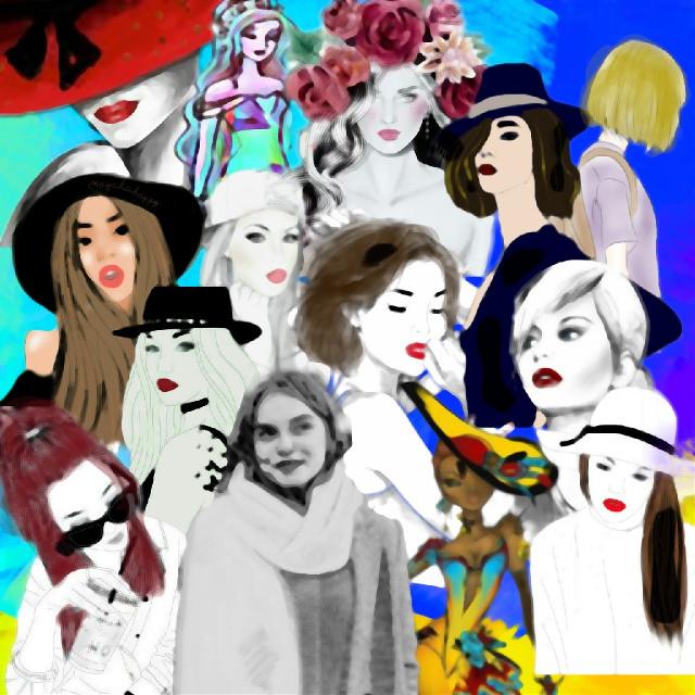 #strongwoman #moderngirl #cartoonizereffect #women #ladies #woman #empoweredwomen #madewithpicsart