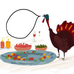 freetoedit turkey turkeydrawings turkeythoughts thanksgiving