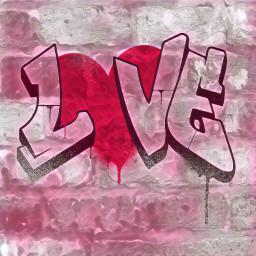 freetoedit graffiti love madewithpicsart stickers